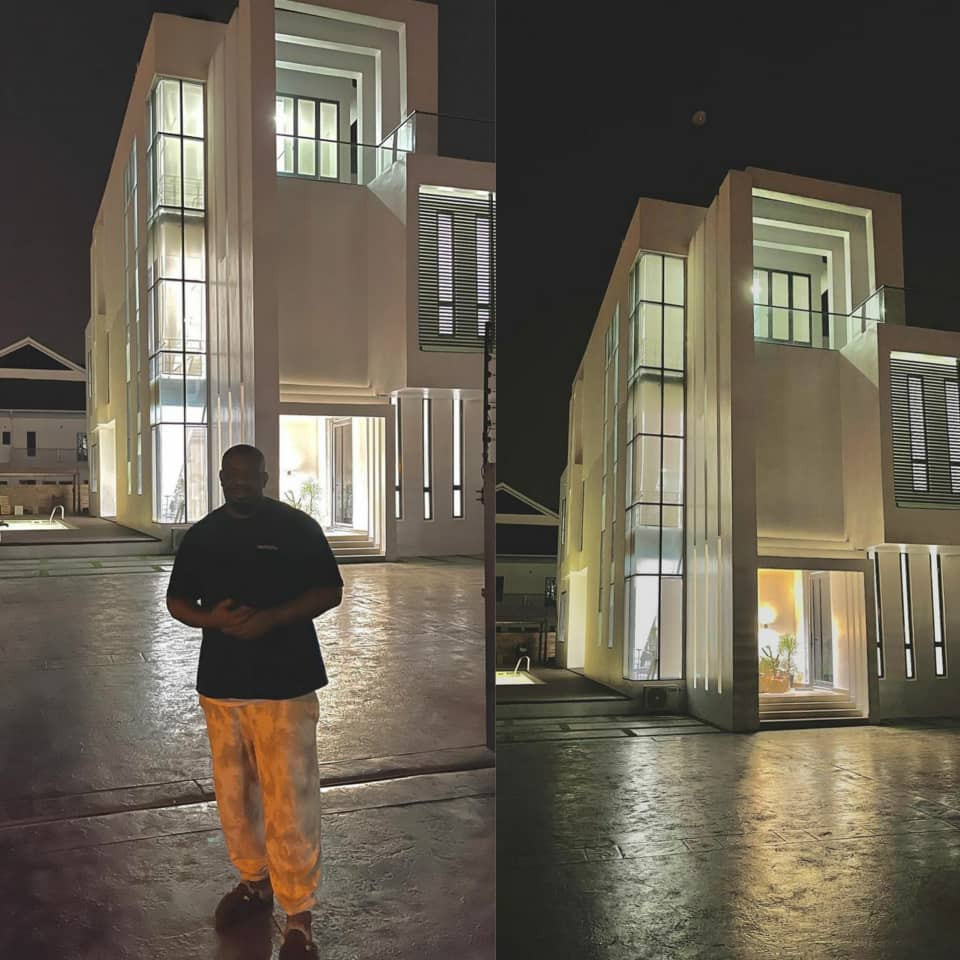 Don Jazzy shares video of his new house in Lekki (VIDEO)