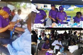 JMEF, Rotary Club hold two day free medical outreach in Osubi, Delta State.