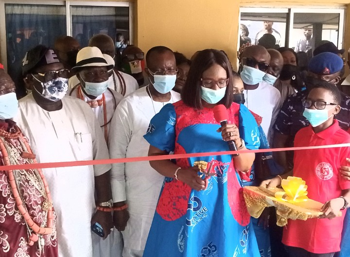 Dame Okowa commissions sickle cell clinic in Warri