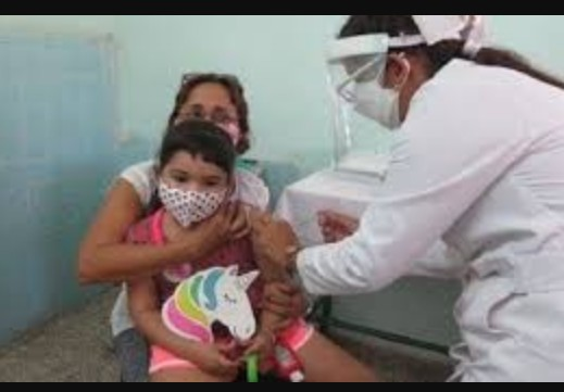 Toddlers from 2 years old get Covid-19 vaccination in Cuba
