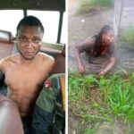 Suspected Yahoo boy attempts to behead his girlfriend for money rituals in Bayelsa (photos)